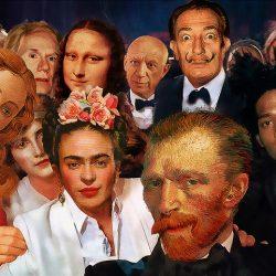 Obras de arte y el cine